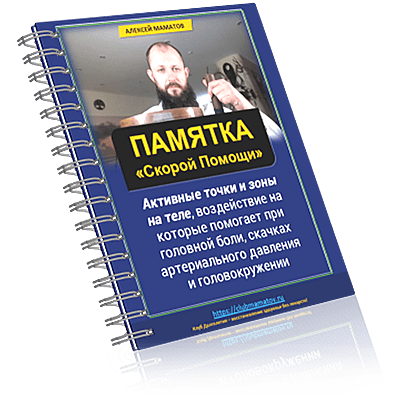 book13 13 - Бесплатная книга Памятка активных точек от Алексея Маматова