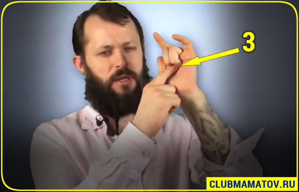 0015 2 1024x658 - 11 точек от давления на теле: как повысить или снизить давление в домашних условиях показывает Алексей Маматов